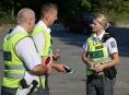 Opilá řidička projela křižovatku v Šumperku na červenou