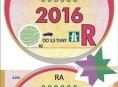 Dálniční známky pro rok 2016