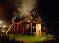 Třetí největší požár loňského roku zaznamenali hasiči v Zábřehu