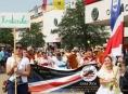 Vyhlídku z šumperské radniční věže si nenechali ujít ani návštěvníci z Kostariky