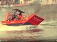 VIDEO:Olomoučtí hasiči testovali záchranné plavidlo Airboat