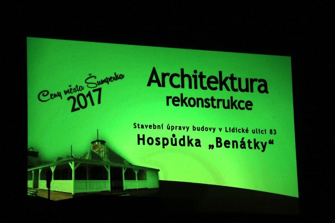 Ceny města Šumperka za rok 2017 byly předány foto: šumpersko.net - M. Jeřábek