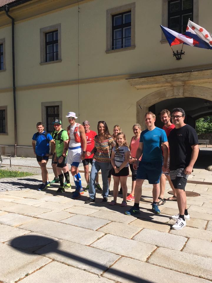 Zábřeh - běžci podpořili Štěpána Dvořáka zdroj foto:muz