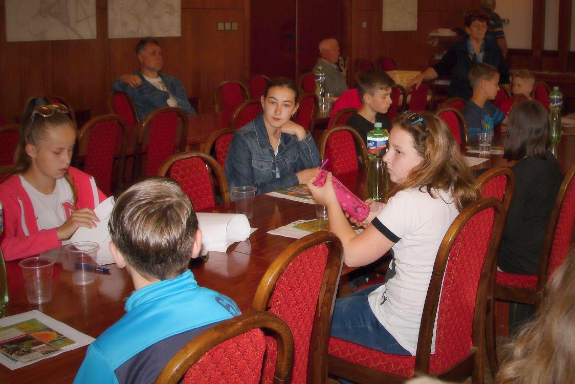 Šumperk - okresní kolo soutěže Mladý zahrádkář foto: sumpersko.net