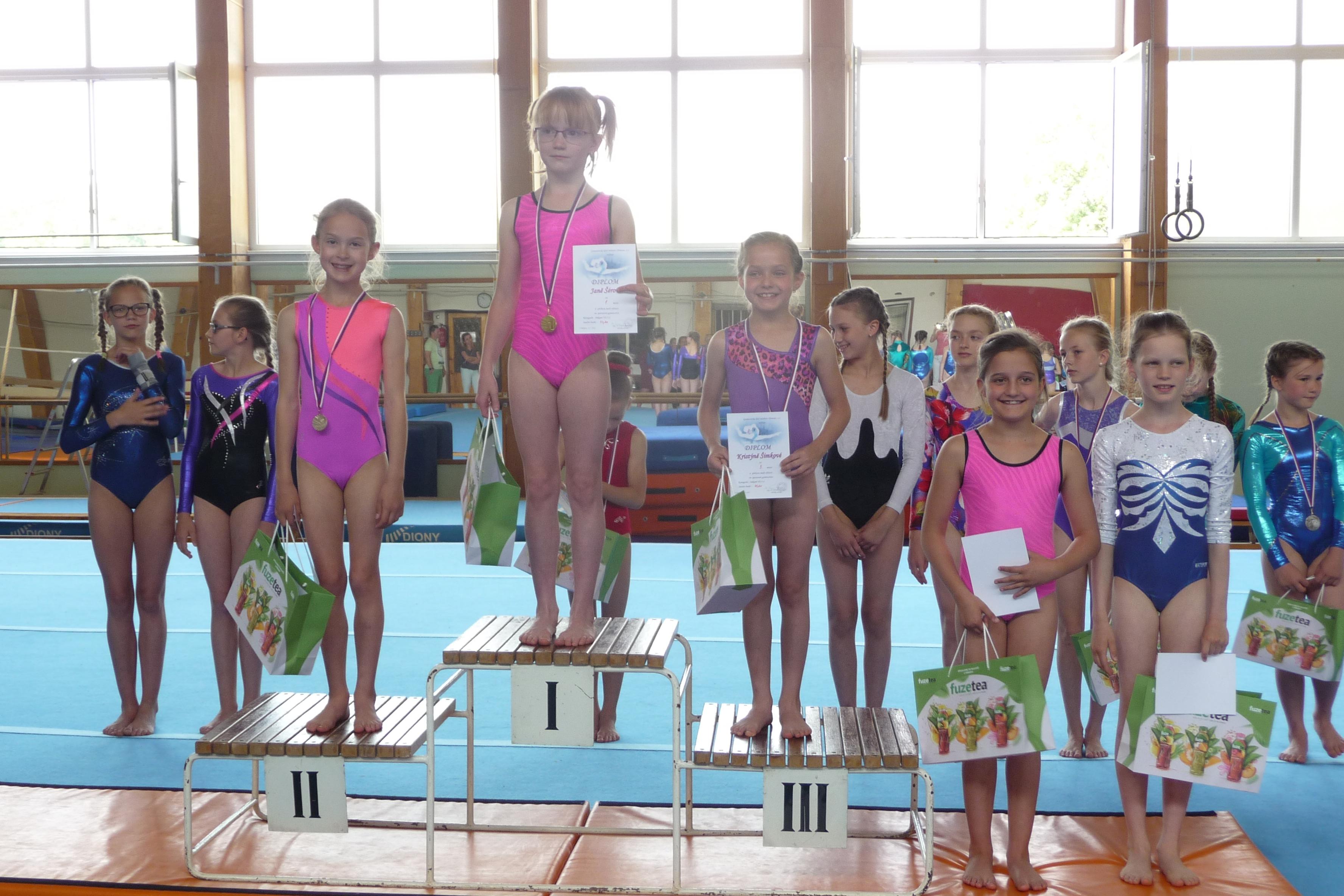 Šumperské gymnastky závodily v Olomouci zdroj foto: oddíl