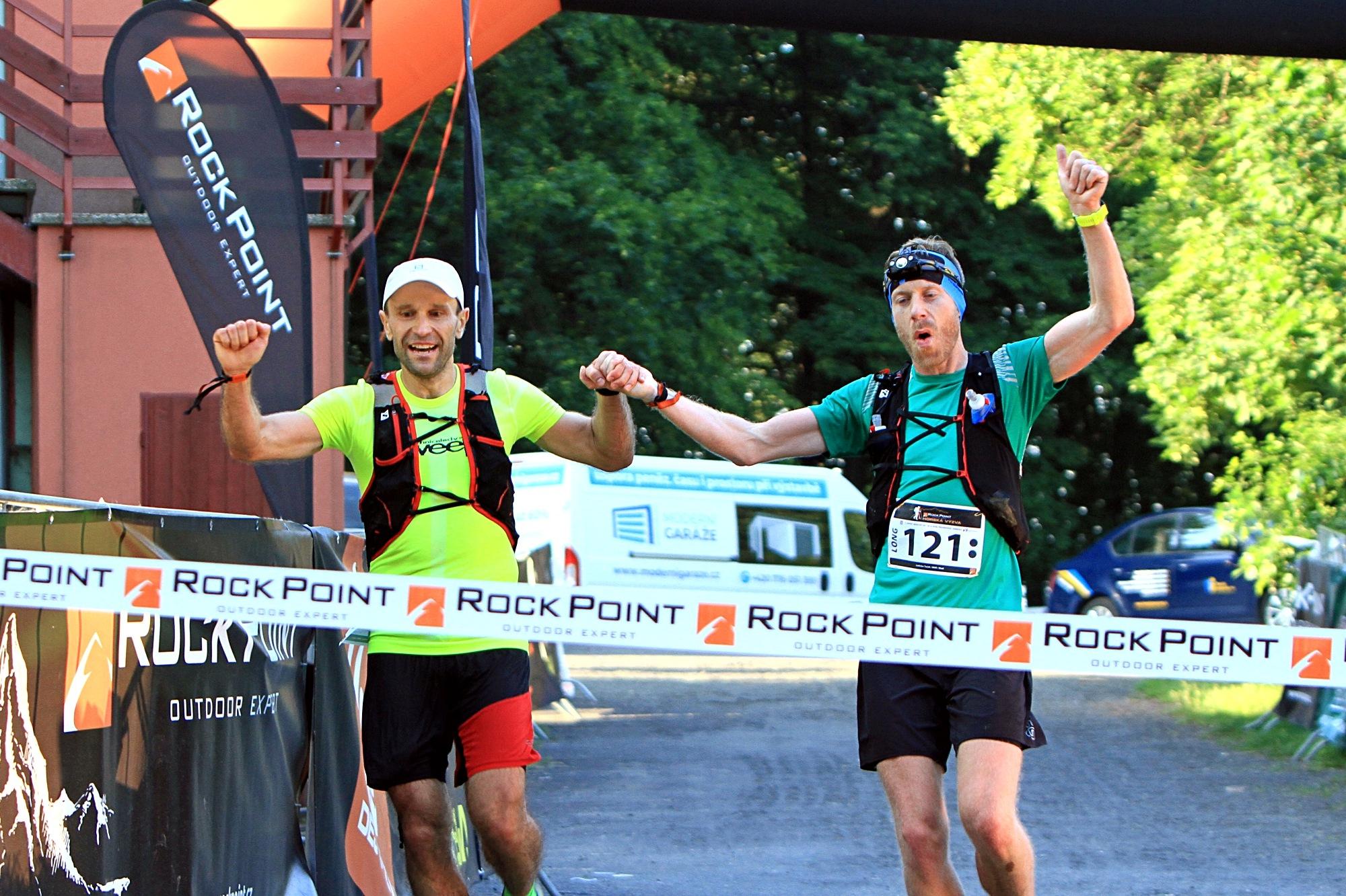 vítězové závodu Long Ladislav a Jakub (zleva) foto:P. Pátek PatRESS.cz