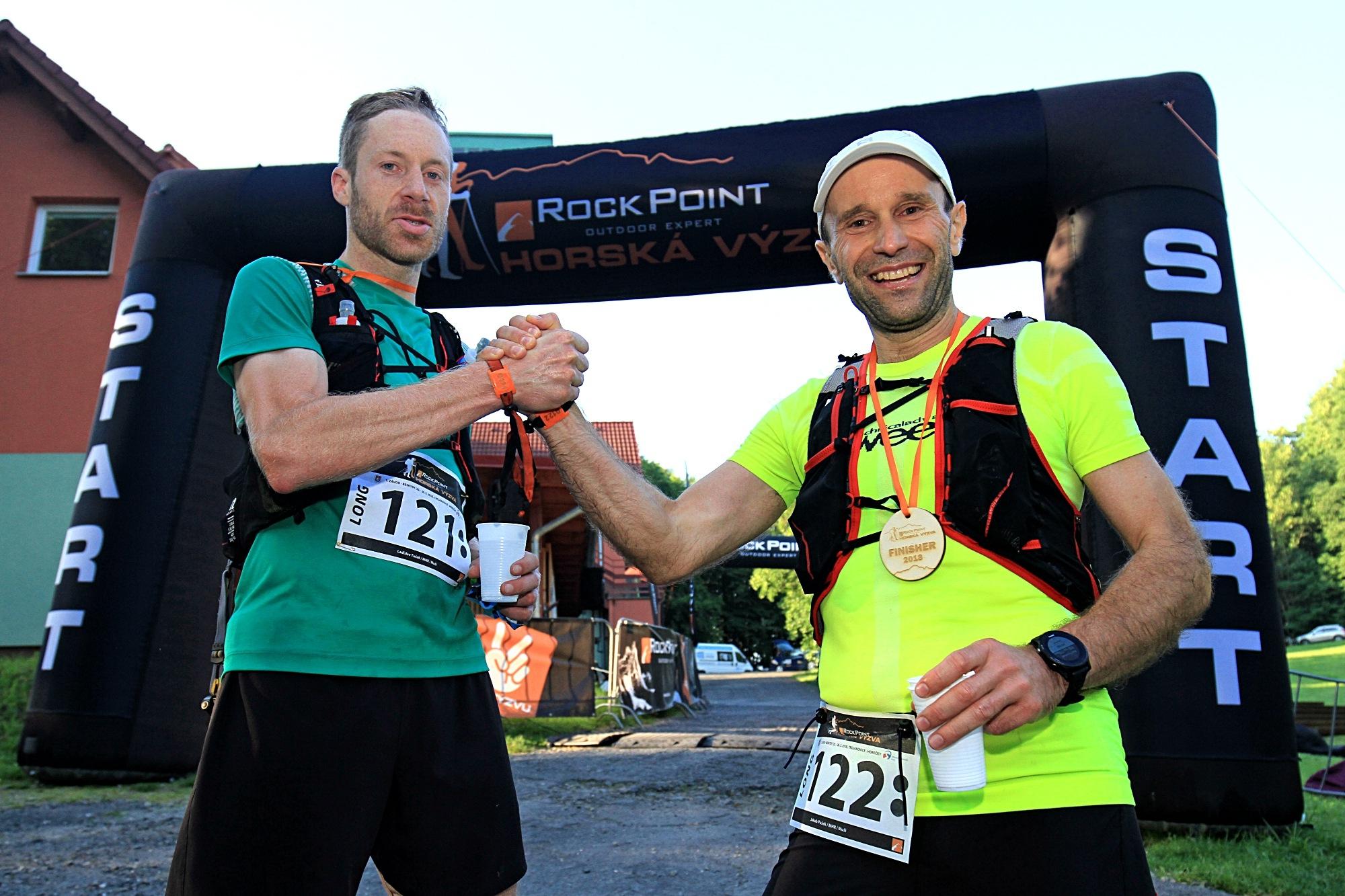 vítězové závodu Long Ladislav a Jakub (zprava) foto:P. Pátek PatRESS.cz