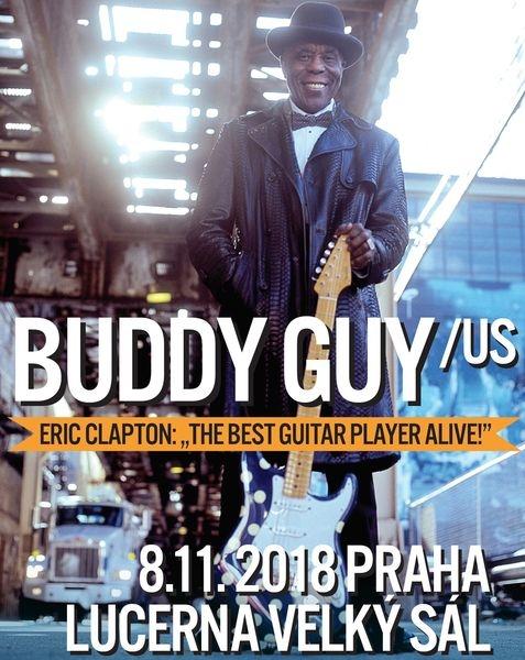 Buddy Guy - pozvánka zdroj: DK
