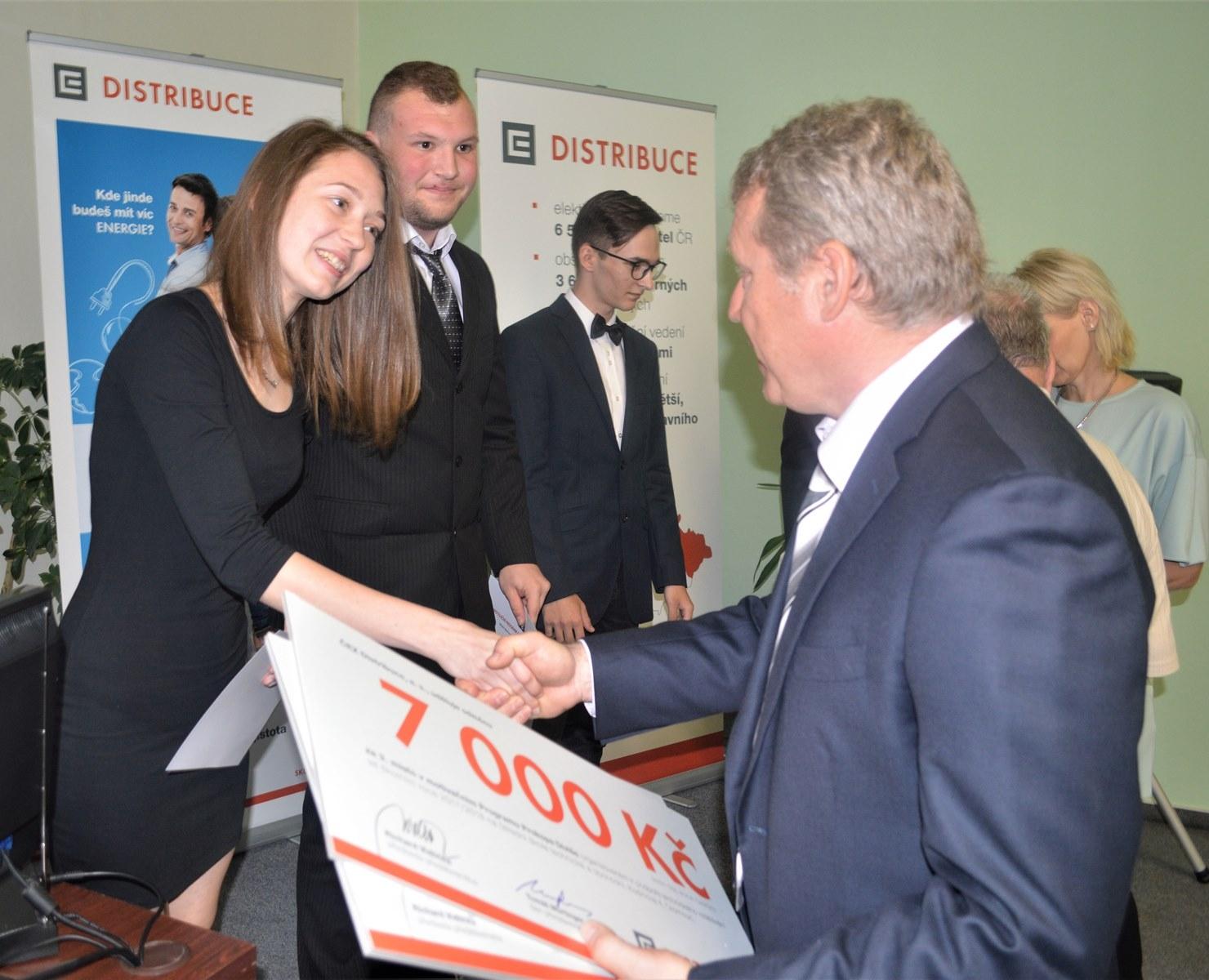 Olomouc - předání ocenění za výkon v motivačním programu zdroj foto: V. Sobol