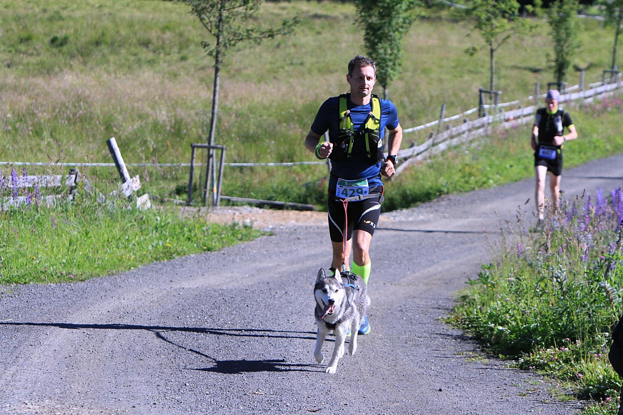 vítězný dogtrekař na trase Half Jan Krabec foto:P. Pátek PatRESS.cz