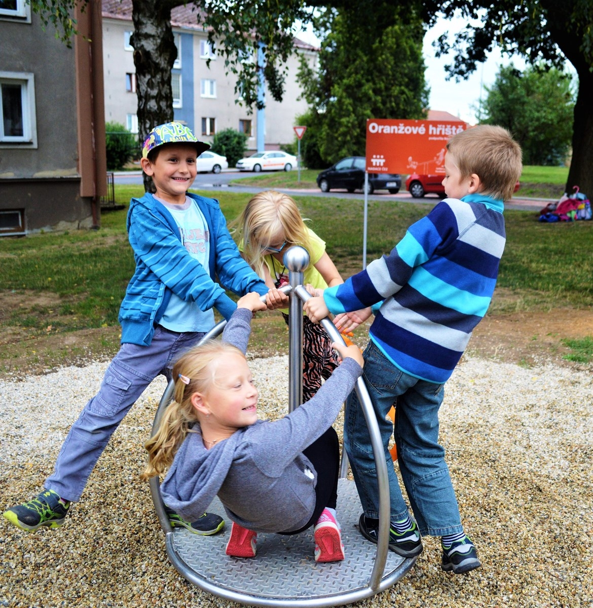 V Mohelnici letos otevřeli během pár týdnů druhé dětské hřiště zdroj foto: V. Sobol