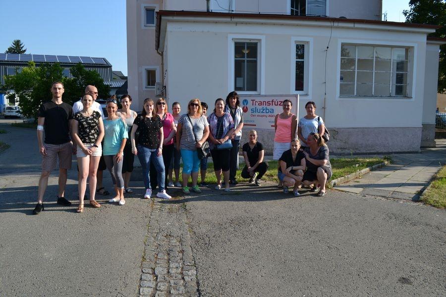 darování krve v Šumperku zdroj foto: L. Drahošová