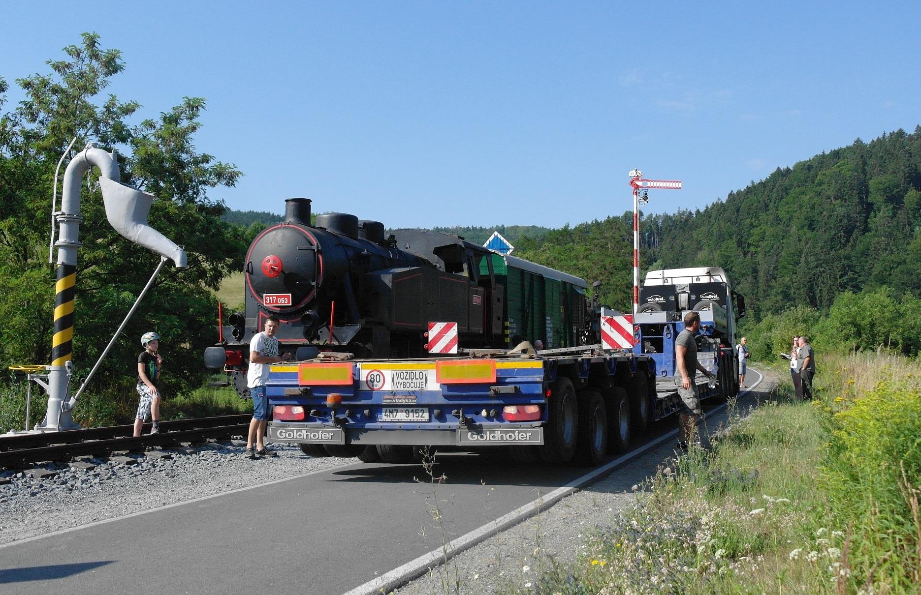 Železniční skanzen na Zábřežsku doplnil zrenovovaný vagon zdroj foto:L.Mahdalová