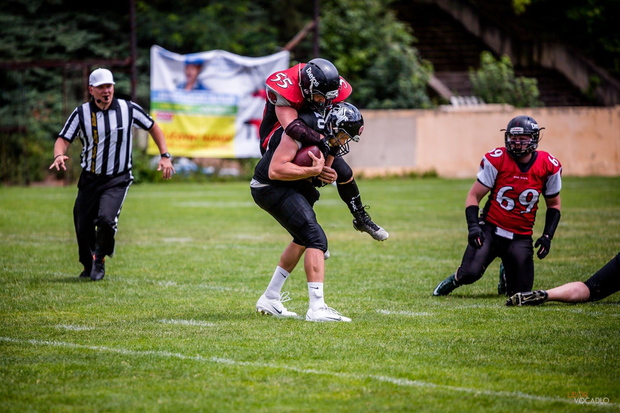Americký fotbal - fotoreportáž foto: L. Vočadlo Photography