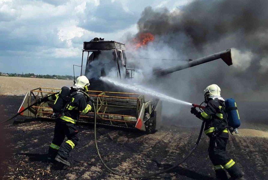 Olomoucký kraj - požár Bochoř zdroj foto: HZS OLK