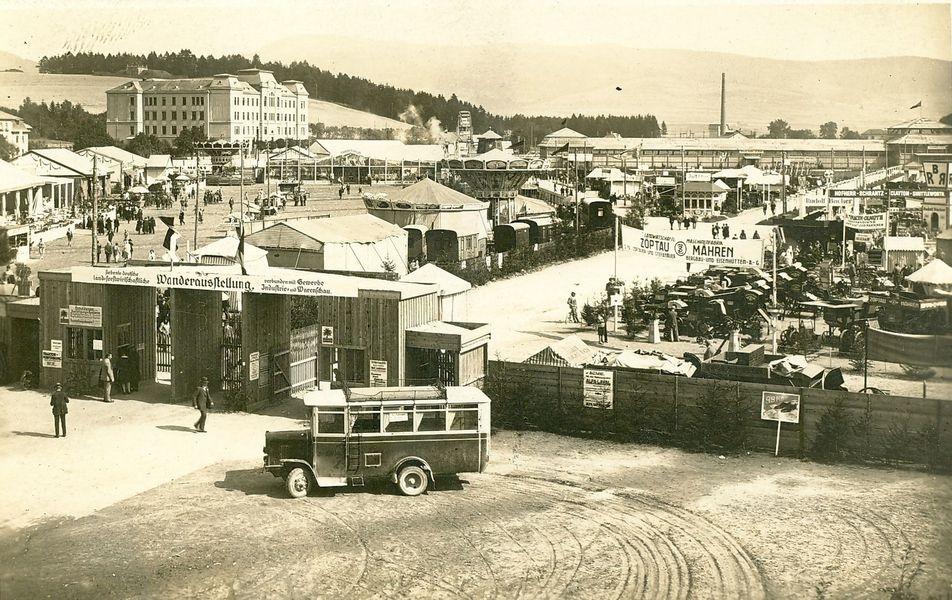 hospodářská výstava v Šumperku, 1935 zdroj foto: VMŠ
