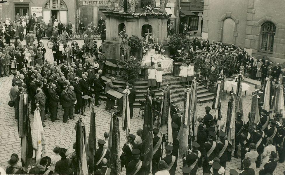 oslavy 70. výročí Kameradschaftsvereinu zdroj foto: VMŠ