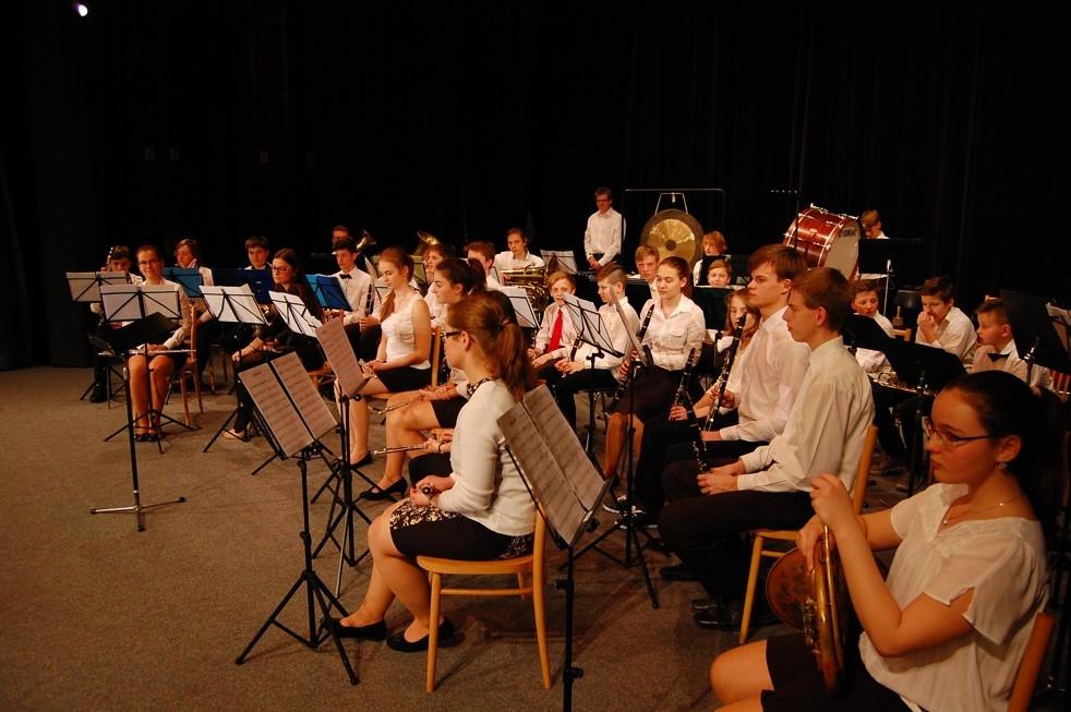 dechový orchestr Zábřeh zdroj foto: ZUŠ Zábřeh