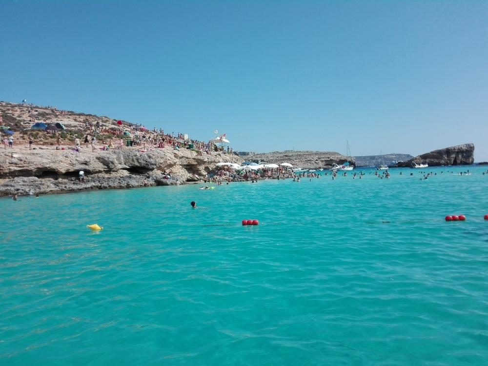 modrá laguna na Maltě zdroj foto: škola