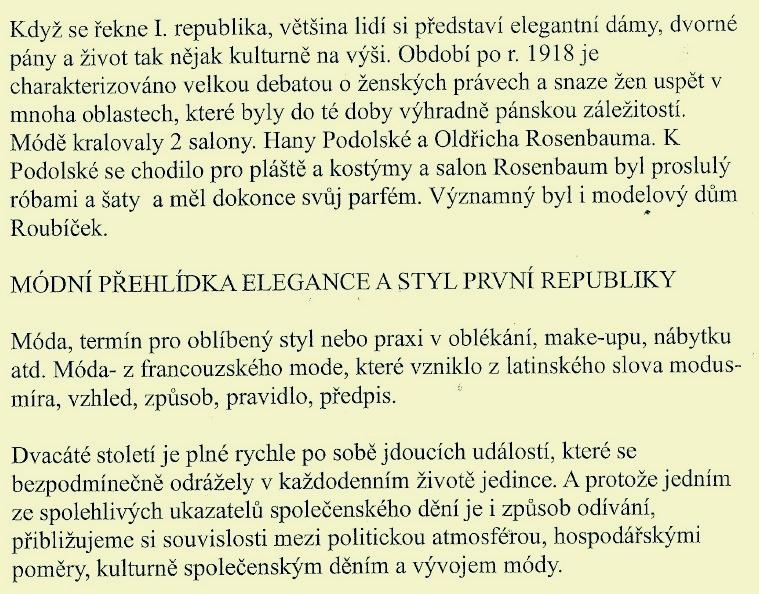 průvodní slovo Olgy Kaštické zdroj: mus