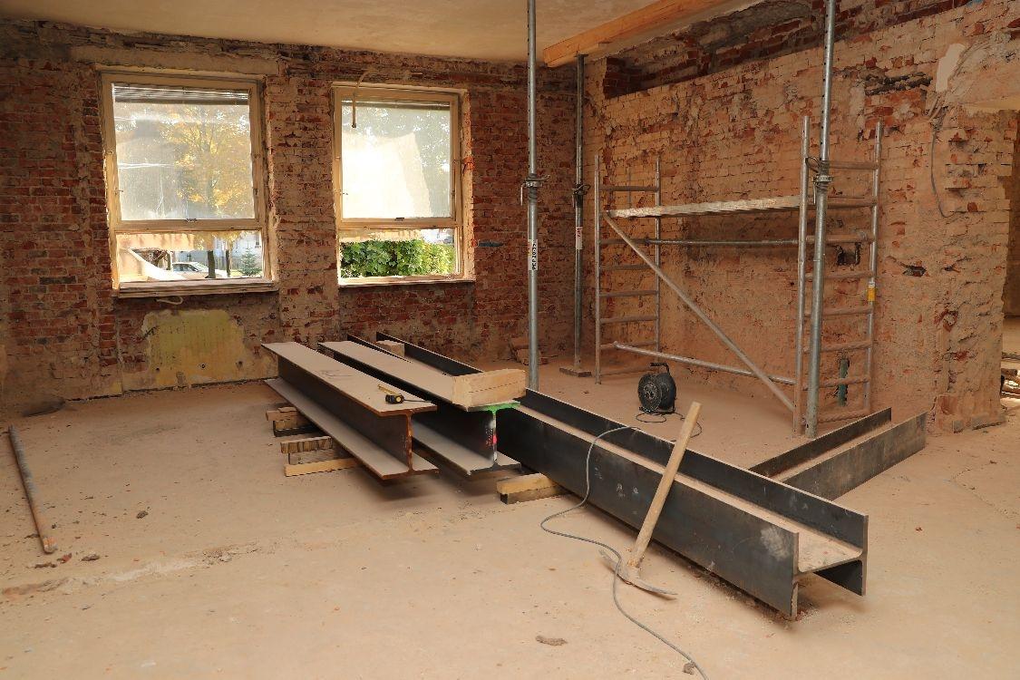 Šumperk - kontrolní den - rekonstrukce bývalého chirurgického pavilonu v NŠ foto: šumpersko.net - M. Jeřábek