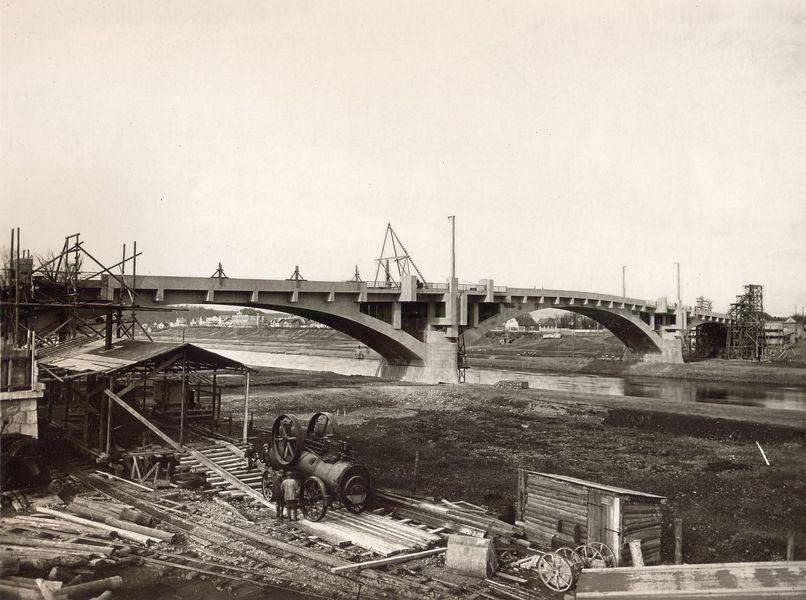 Výstava o Masarykových mostech bude symbolicky otevřena za přítomnosti T. G. Masaryka zdroj foto: MSV