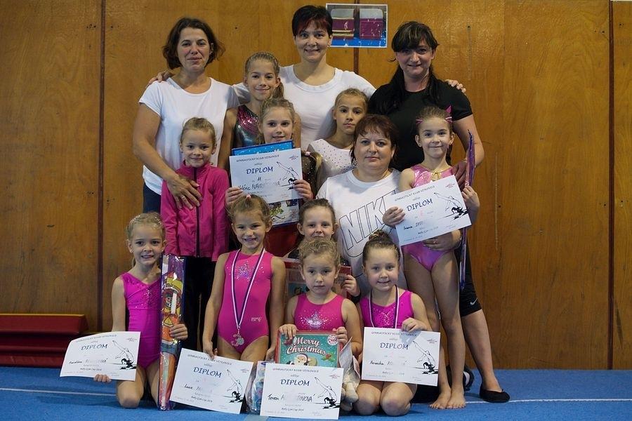 Gymnastky GK Šumperk zahájily v říjnu sezónu - Šumperk zdroj foto: oddíl