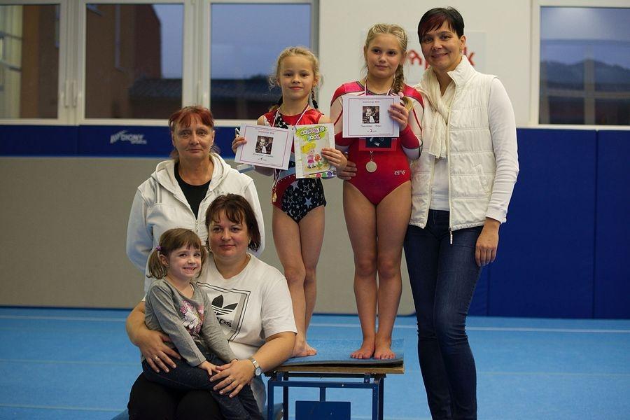 Gymnastky GK Šumperk zahájily v říjnu sezónu - Vítkovický pohár zdroj foto: oddíl