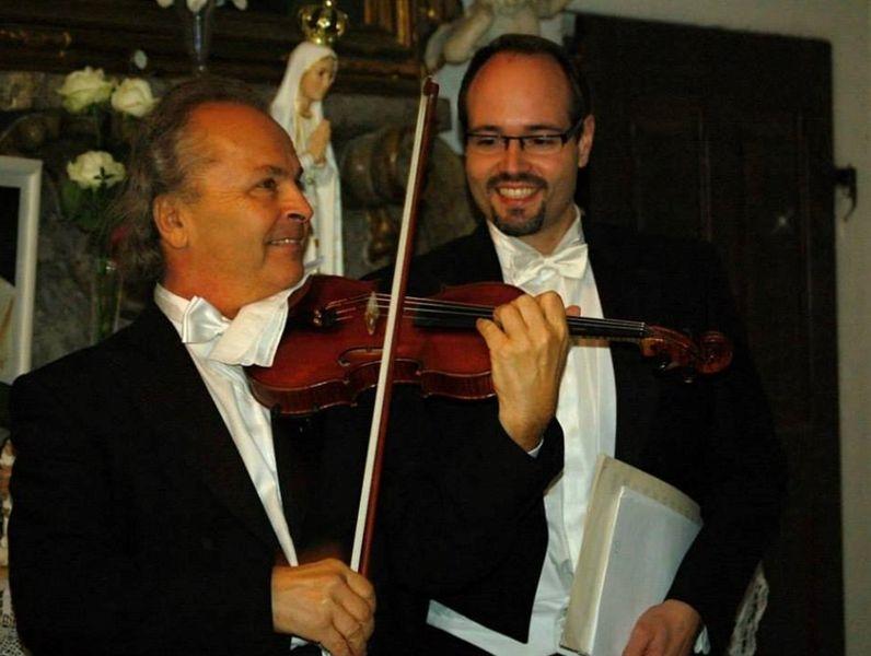 Václav Hudeček a jeho hosté v Šumperku zdroj foto: archiv Spolek múzických umění