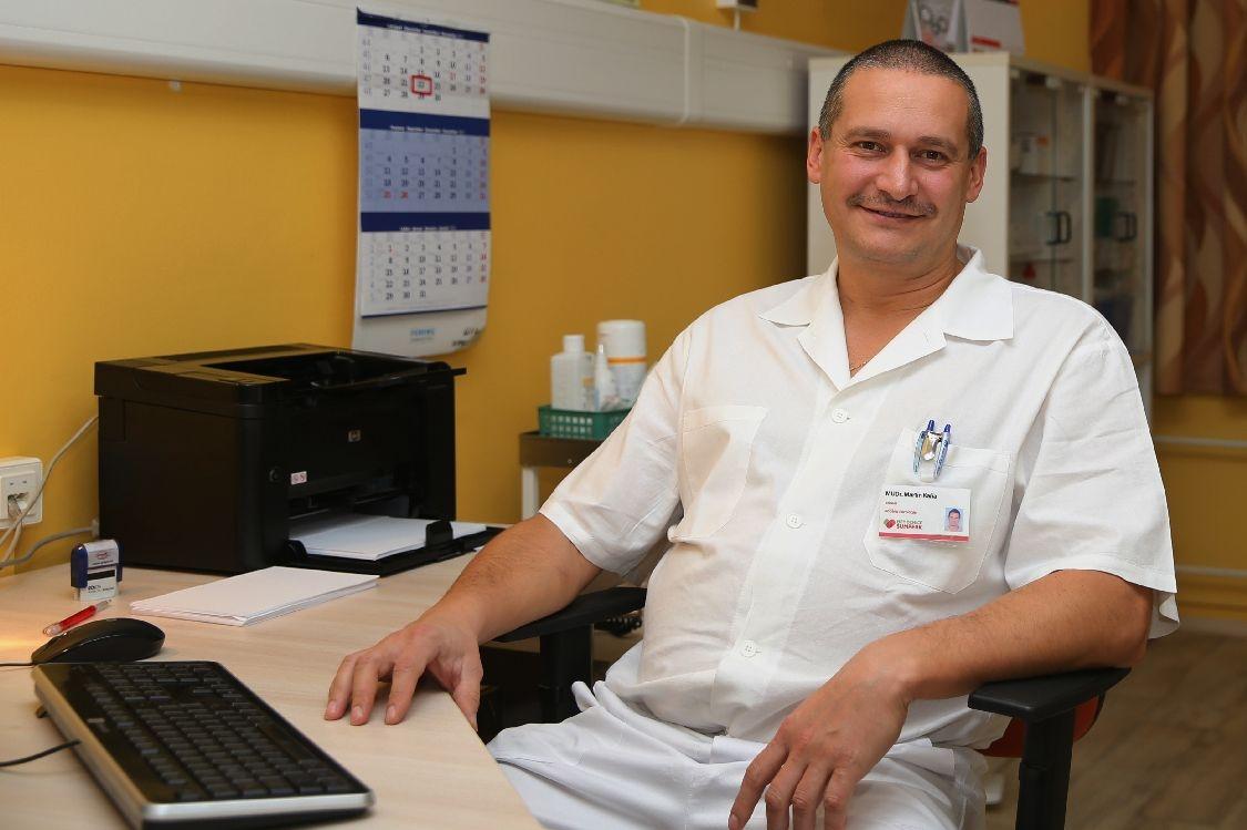 primář urologického oddělení šumperské nemocnice MUDr. Martin Kaňa foto: archiv šumpersko.net - M. Jeřábek