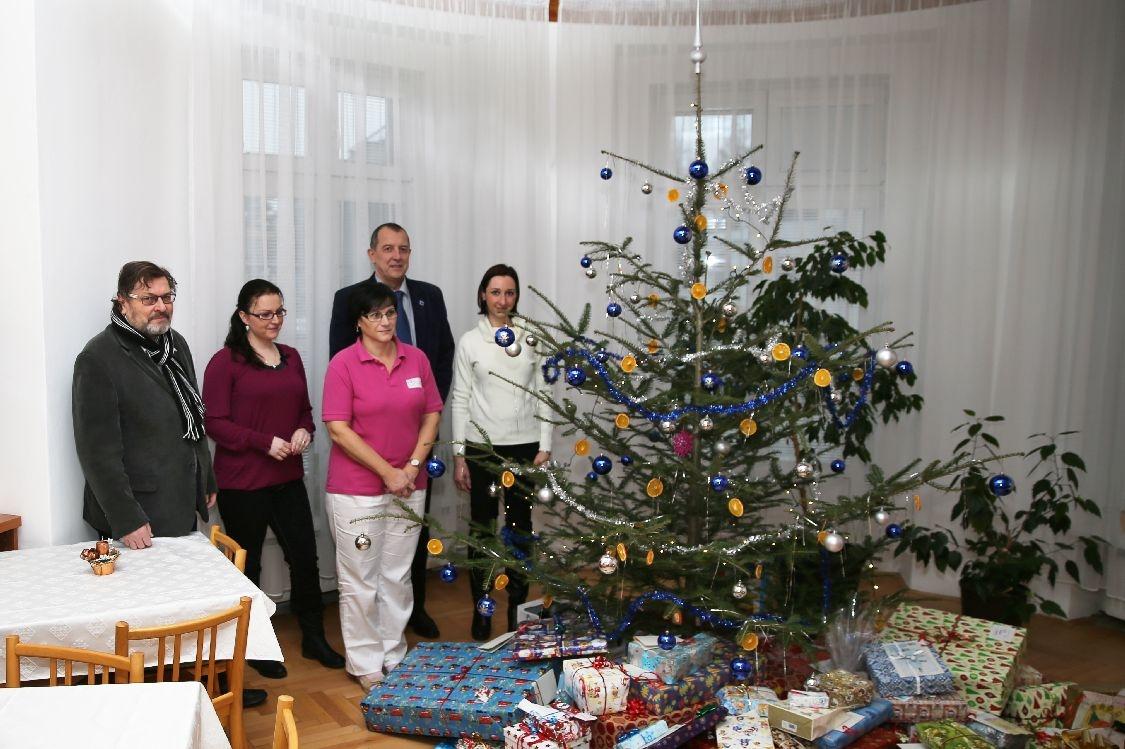 Strom splněných přání v Šumperku zdroj foto: šumpersko.net