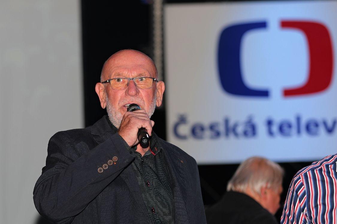 Blues Alive 2018 - ředitel DK Šumperk, ředitel festivalu Blues Alive Vladimír Rybička foto: šumpersko.net - M. Jeřábek