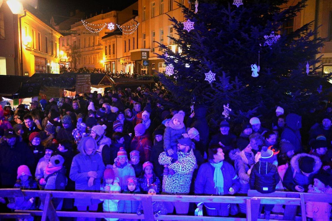 Šumperk - symbolické zahájení Vánoc 2018 foto: šumpersko.net - M. Jeřábek