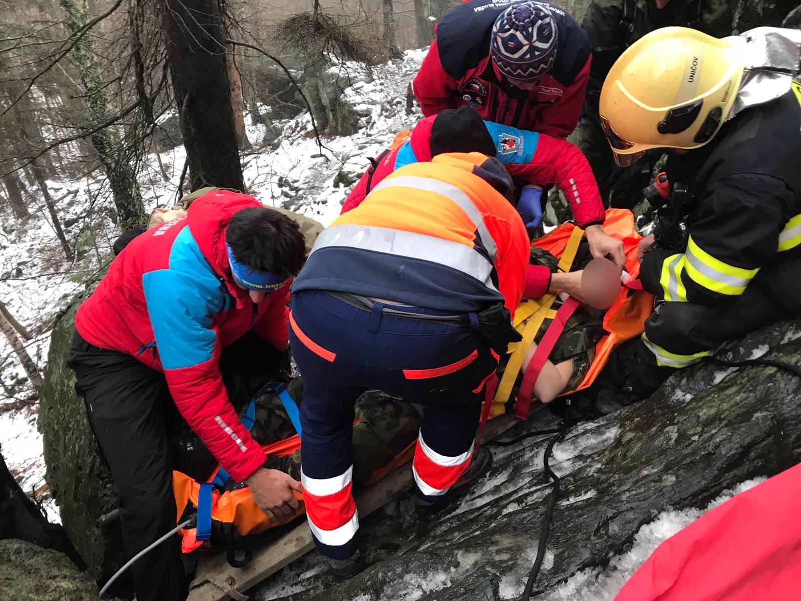 Oskava - zásah hasičů zdroj foto: HZS OLK