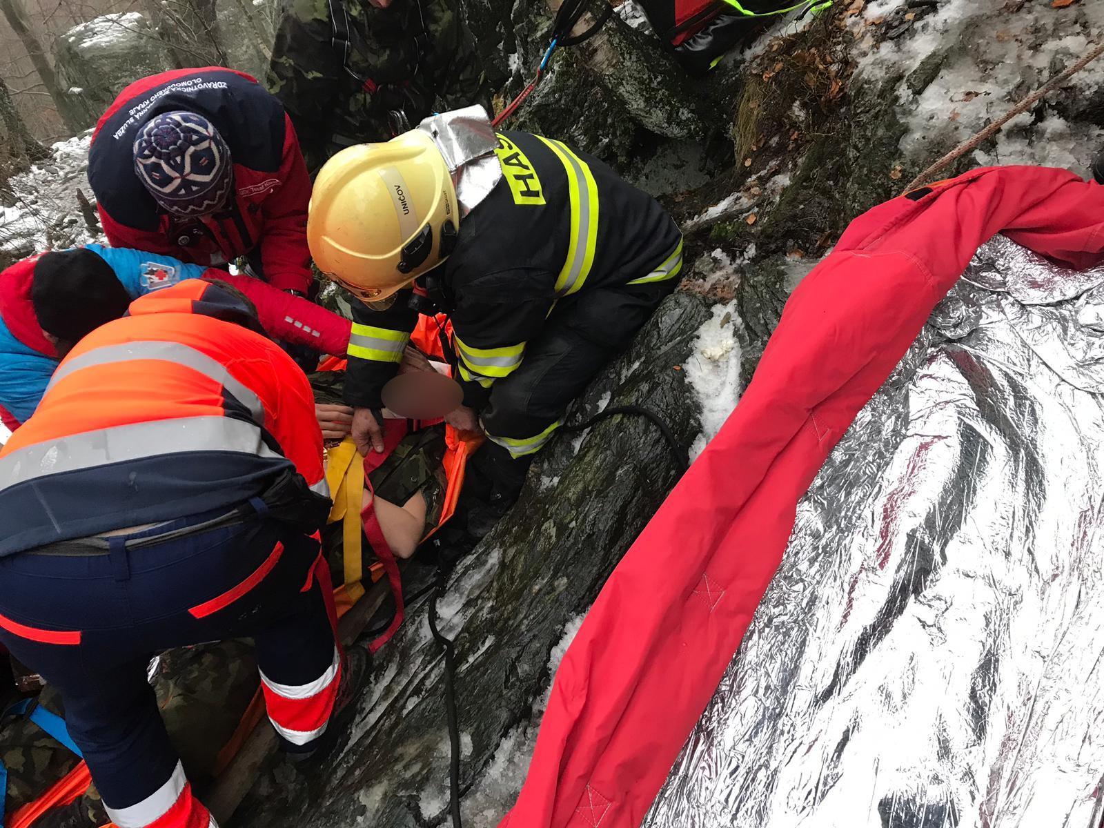 Oskva - zásah hasičů zdroj foto: HZS OLK