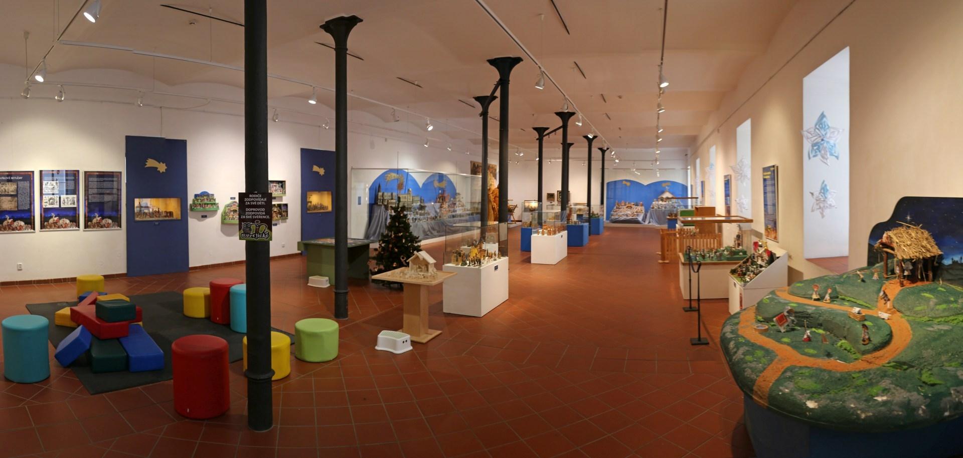 Sbírka Betlémů v šumperském muzeu zdroj foto: VMŠ