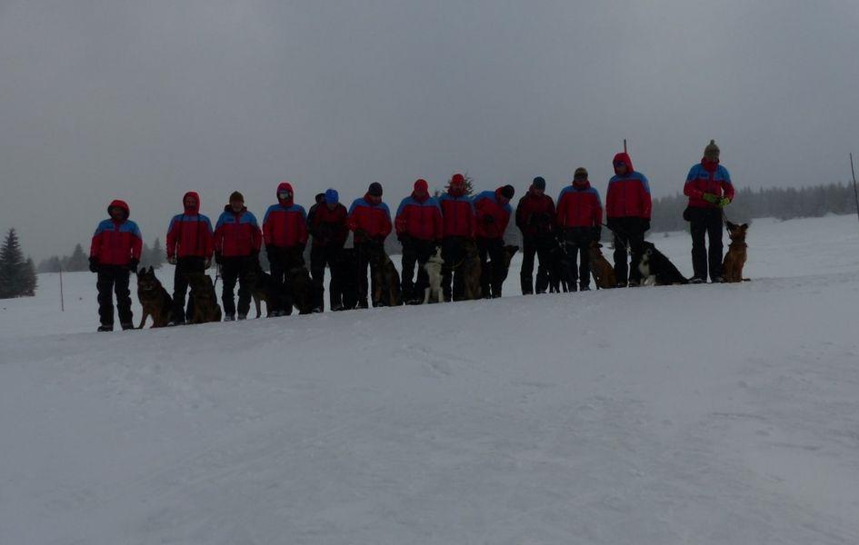 Horská služba v plném nasazení pro zimní sezónu zdroj foto: HS