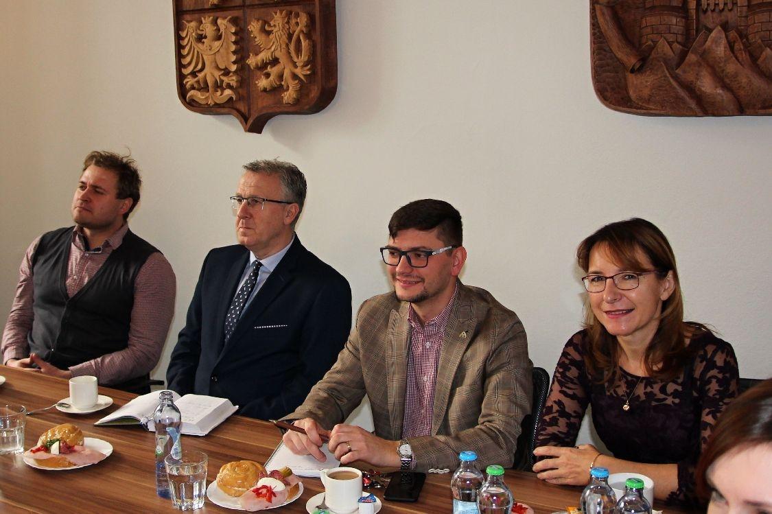 Šumperský Poradní sbor zaměstnavatelů má za sebou první zasedání foto: šumpersko.net - S. Adoltová