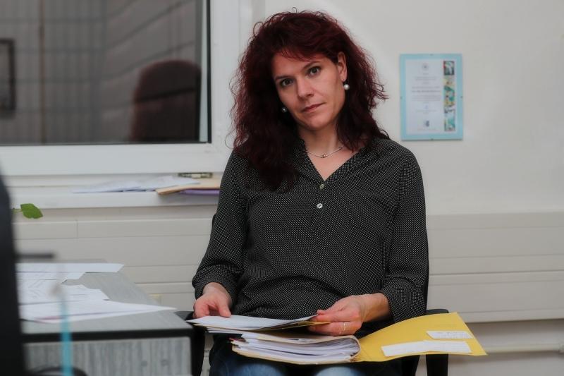 Komisařka Marcela patří do týmu policejních krizových interventů Olomouckého kraje foto: šumpersko.net - M. Jeřábek