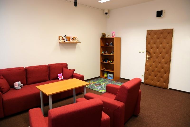 ÚO PČR Šumperk - výslechová místnost pro děti foto: šumpersko.net - M. Jeřábek