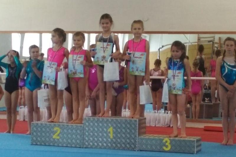 Oddíl šumperské sportovní gymnastiky soutěžil v Bruntále zdroj foto: oddíl TJ Šumperk
