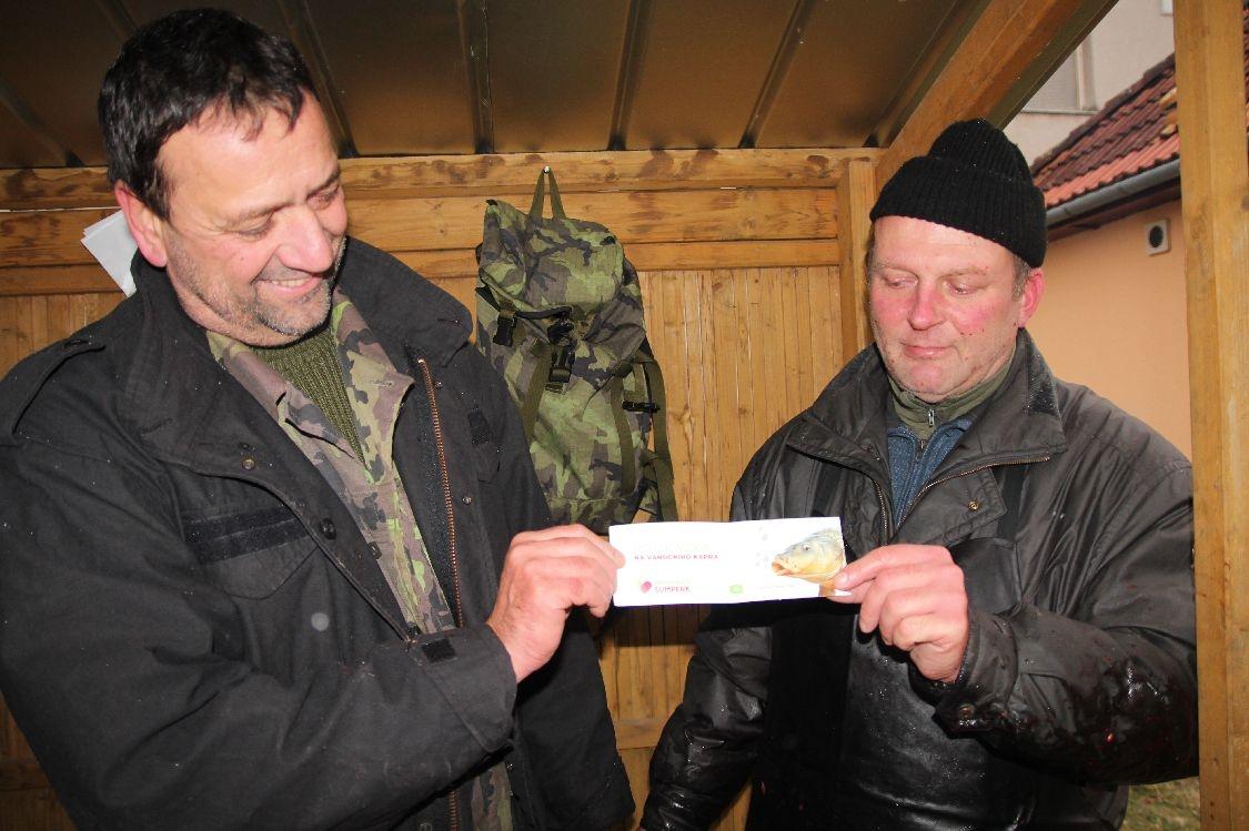 dárkový pokuaz NŠ foto: šumpersko.net S. Adoltová