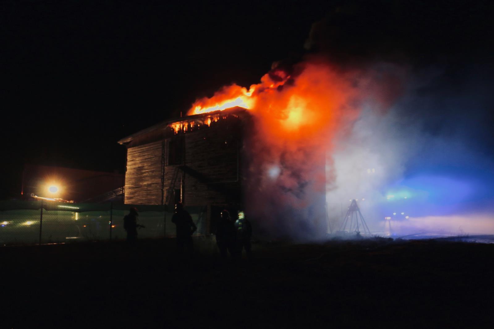 zásah hasičů v Bohuňovicích zdroj foto: HZS OLK