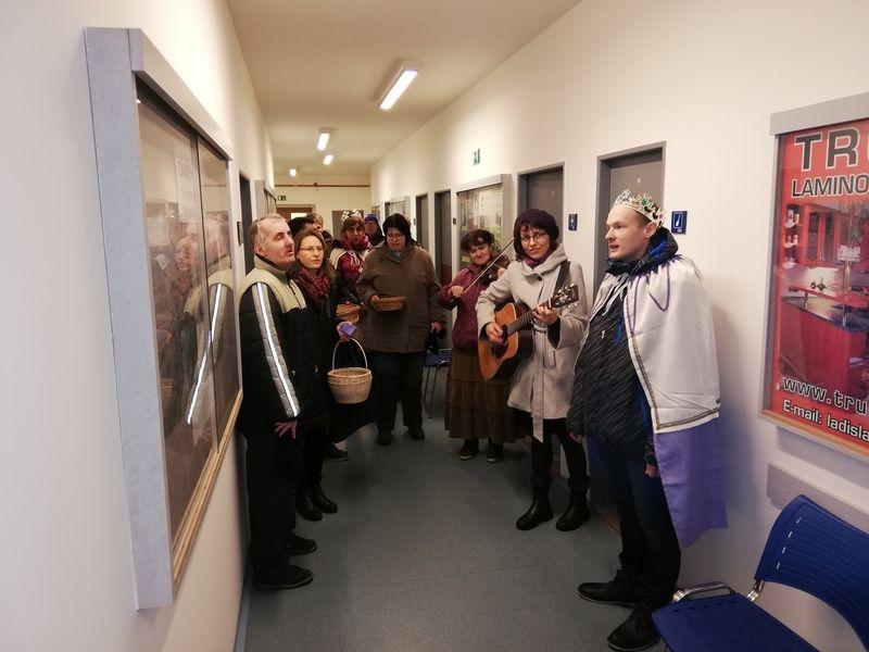 Na zábřežské radnici koledovali Tři králové zdroj foto: muz