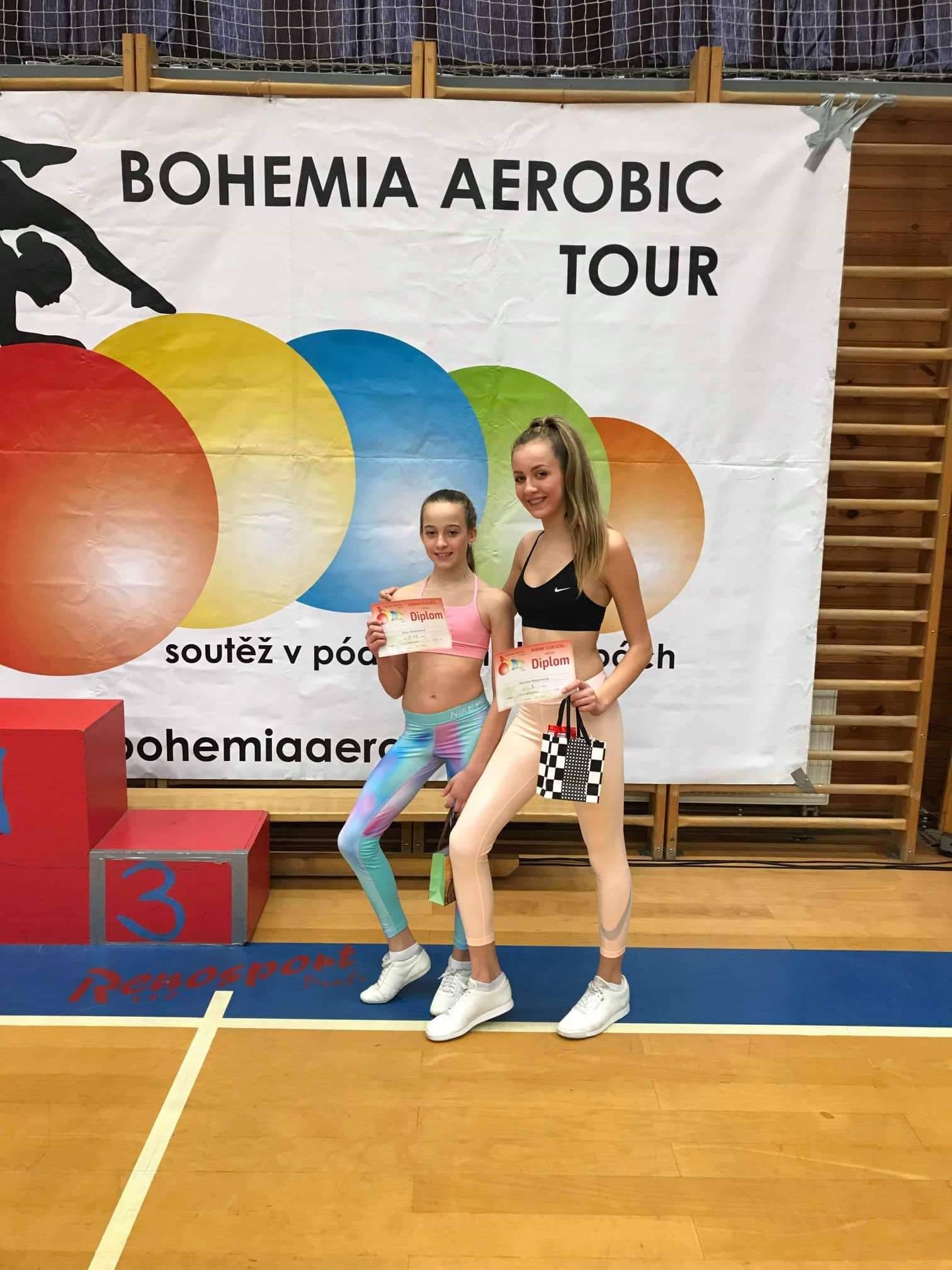 Šumperský aerobic boduje! zdroj foto: oddíl