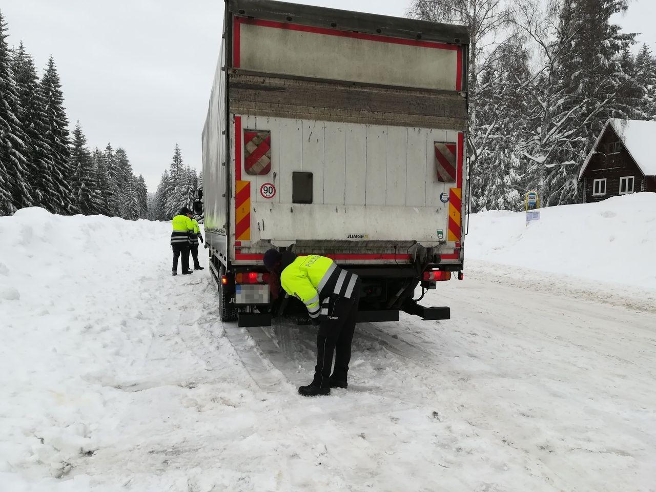 Šumpersko - DBA zdroj foto: PČR