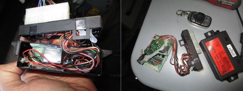 magnety, elektronická zařízení, která ovlivňují správnou funkci tachografu zdroj foto: PČR