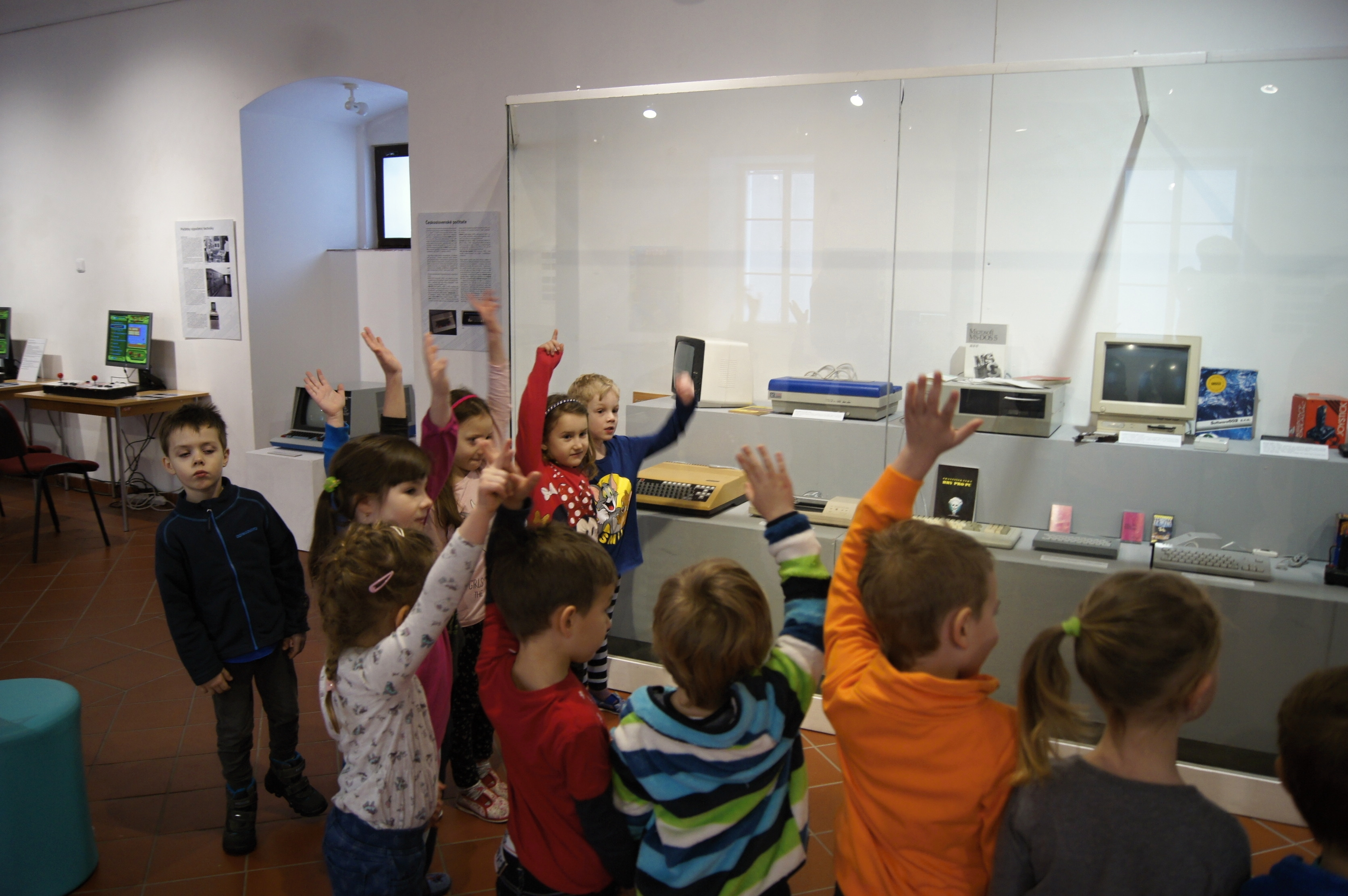 Výstava Retrogaming v šumperském Muzejíčku zdroj foto: VMŠ