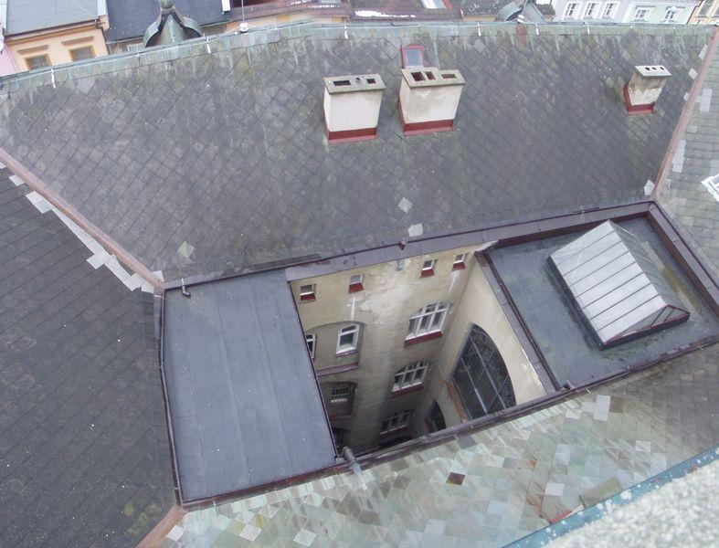 původní střecha zdroj foto: archiv V. Janků
