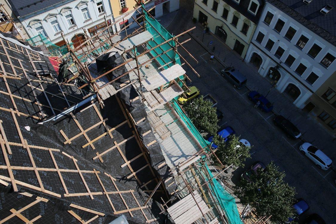 Šumperk - rekonstrukce v roce 2018 foto: sumpersko.net - M. Jeřábek